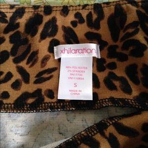 Skirts - DONATING TONIGHT! Leopard mini skirt