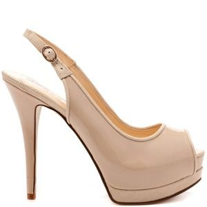 Guess Shoes - Guess peep toe heels