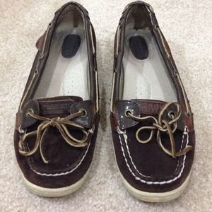 Brown Sperry Topsider Boat Shoes