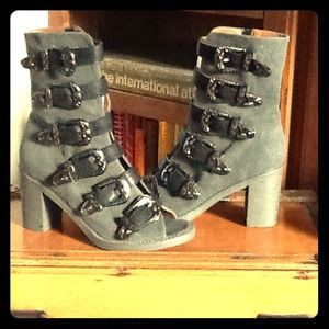 Jeffrey Campbell for Free People Buckle Boot