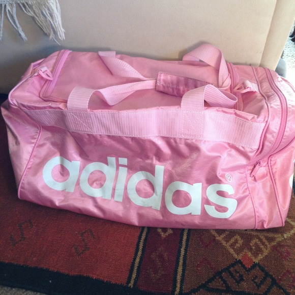d14fc7543349 Buy adidas duffle bag pink   OFF66% Discounted