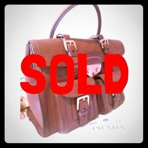 "best prada bag to buy - 66% off Prada Handbags - ??SOLD?   Prada ""Antic Lock"" Satchel ..."