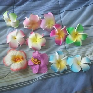 Accessories - 4 for$10 Flower picks and clips