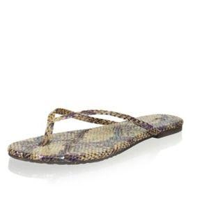 Corso Como Leather Thong Sandals
