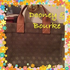 Dooney and Bourke small tote bag beige