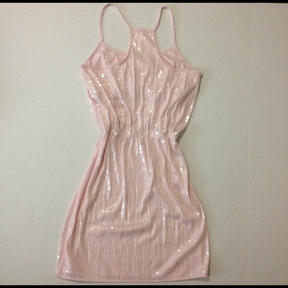 Aeropostale - ❗️Sold❗️Light Pink Sequin Dress NWOT from ...