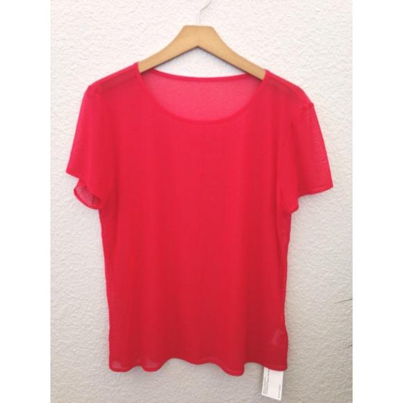 86 off american apparel tops american apparel mesh t for American apparel mesh shirt