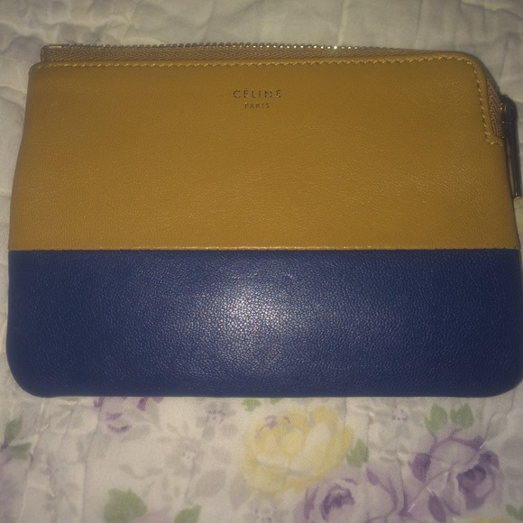 celine micro luggage tote replica - celine navy leather clutch bag