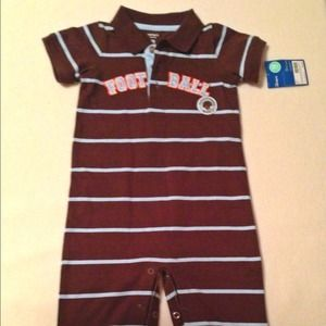 Other - ⚡REDUCED⚡NWT Football jumpsuit for 18 months.