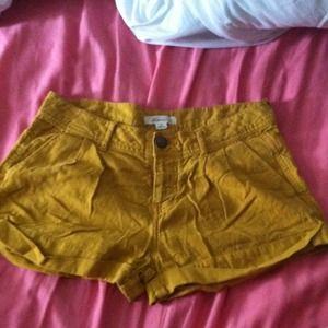 Forever 21 Pants - 🐙 Mustard shorts