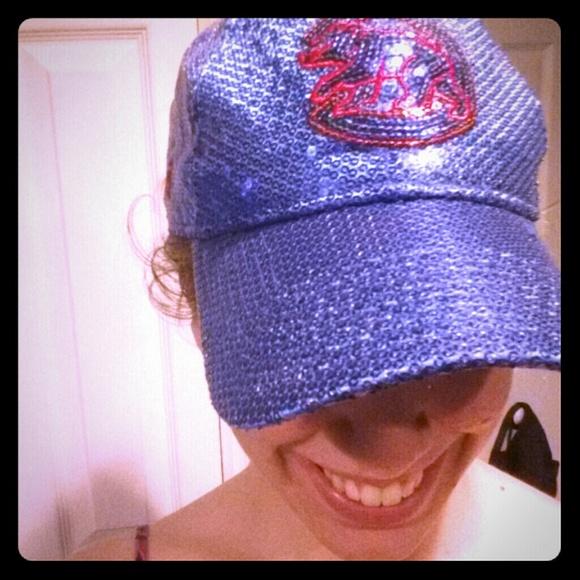 bbd0ec580b6 PINK SEQUINED CUBS Hat. M 5374f0f332fe1449210617f1