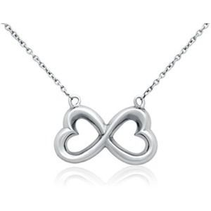 Blue Nile double heart necklace