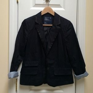 American Eagle Outfitters Jackets & Blazers - Navy Blazer