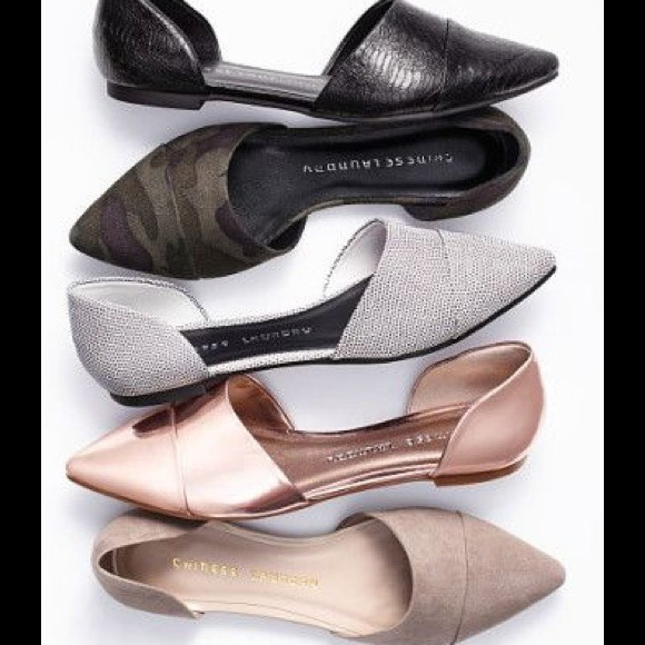 Chinese Laundry Shoes - Chinese Laundry Easy Does It D Orsay Pointed Flat 5dde0dfc7