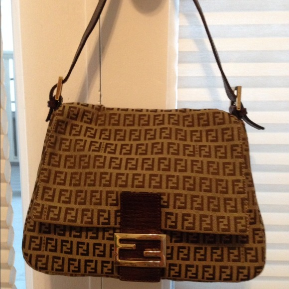 a16c378458ad ... promo code for fendi sold authentic fendi zucca mama forever bag from  ruby39 6952b 60b90