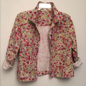 CASUAL FLORAL SUMMER JACKET