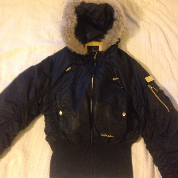 78 Off Baby Phat Outerwear Baby Phat Fur Lined Hooded