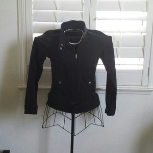 Outerwear - Black with gold jacket