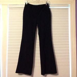 Club Monaco Pants - Black pinstripe dress pants