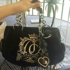 Velour Juicy Couture Handbag