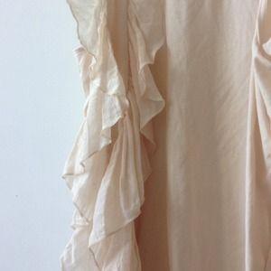 H&M Tops - Pale pink ruffle vest