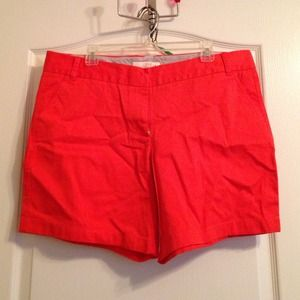 "J. Crew Pants - J. Crew Orange 7"" Chino short"