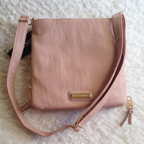 Steve Madden - Steve Madden blush crossbody bag from Nayla's ...