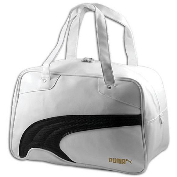 Puma Bags 2x Editors Pickwhite Leather Duffel Bag Poshmark