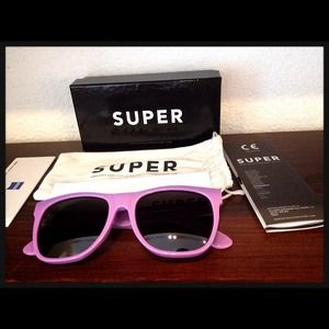 Super Sunglasses Accessories - 🎉HP!🎉RetroSuperfuture SUPER wayfarer sunglasses