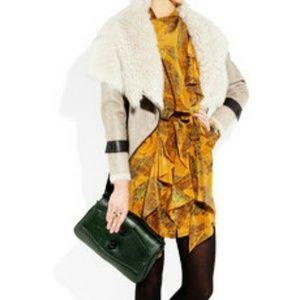 EDUN Dresses & Skirts - HP🎉🎉🎉EDUN Printed Silk Dress XS