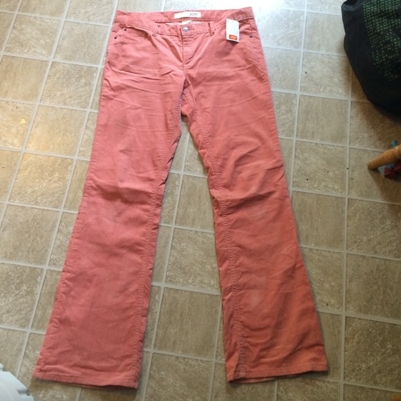 71% off Joe Pants - Salmon pink corduroy pants! from Kylie's ...