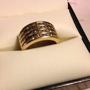 1 carat Diamond Band 4 Row 10k-weisfield JEWELERS