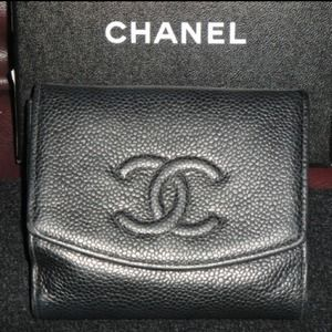 Chanel Authentic Wallet Black