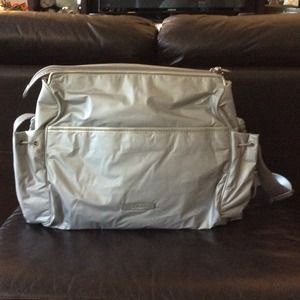 bf6b9a5541 Cole Haan Bags - Cole Haan Baby Bag - Silver