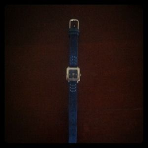 Denim timex watch