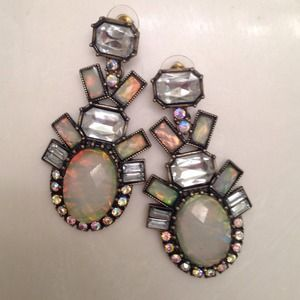 Bauble Bar Jewelry - Bauble Bar galactic opal earrings