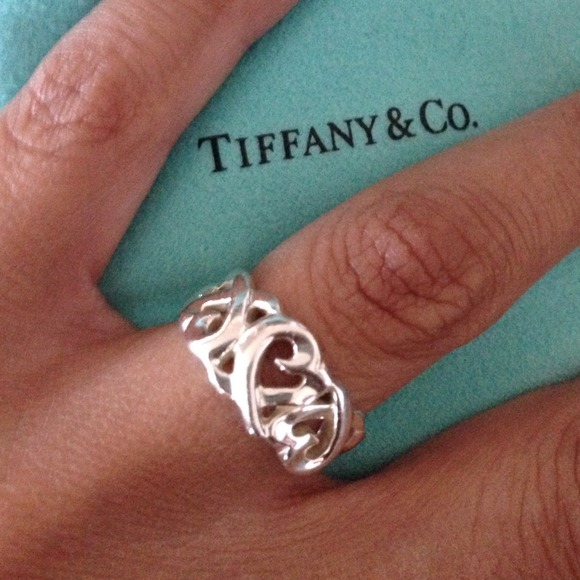 d4c7632ec Tiffany & Co. Jewelry | Paloma Picasso Loving Heart Ring | Poshmark