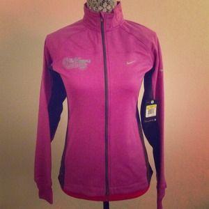 Nike women's marathon 2013 zip up jacket