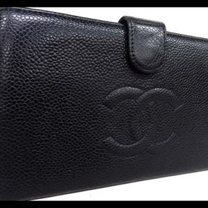 Authentic Long Chanel Wallet