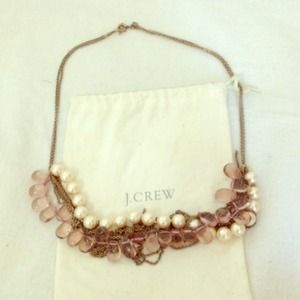 J Crew layered necklace