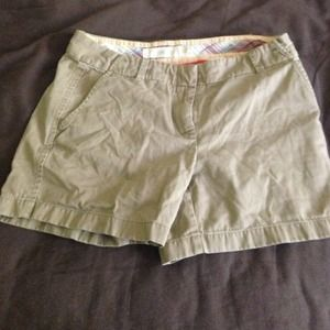 J. Crew Chino shorts- city fit