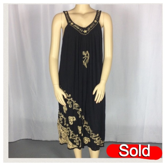Fashion Force Plus size embroidery summer dress