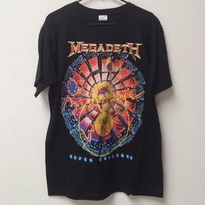 Tops - Megadeth Concert Tee