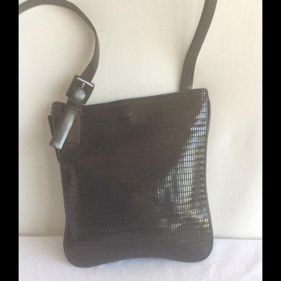 c33c3f00348 Cerruti 1881 Handbags - Black Leather Shoulder Bag by CERRUTI 1881 Italy