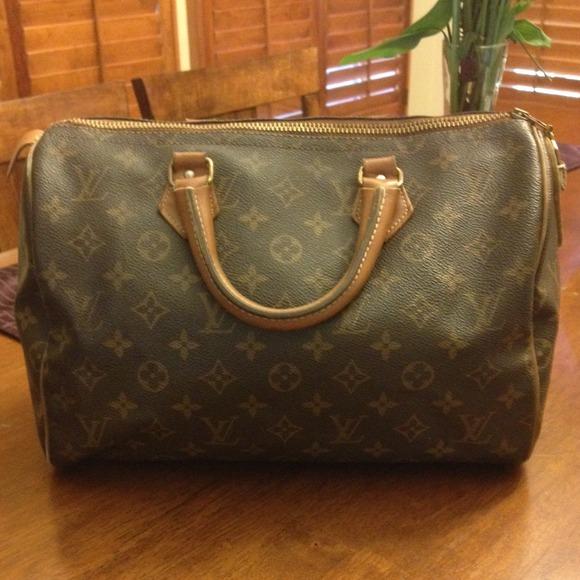 b7ca1bb4476 Louis Vuitton Bags | Buy Now Authentic Vintage 1975 Lv Speedy | Poshmark