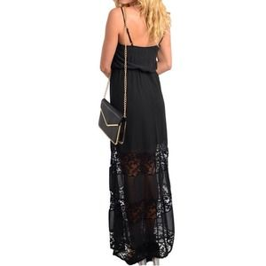 Dresses - 💠PM EDITOR PICK💠 LAST Black Lace Maxi 3