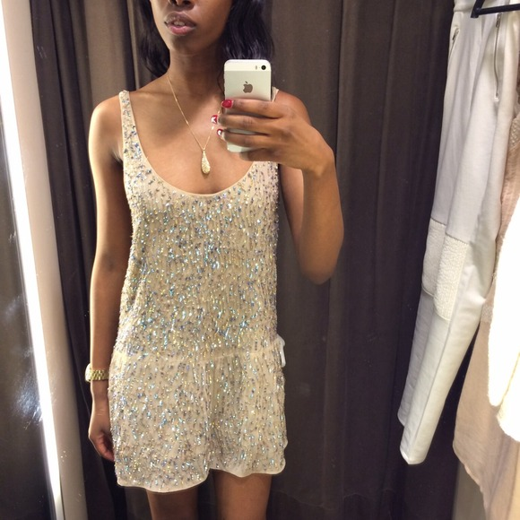 Sequin Romper by Zara