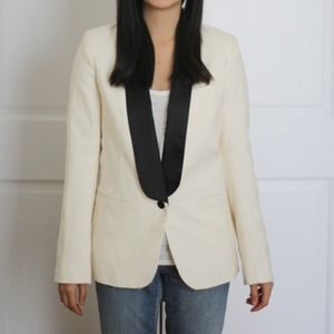 French Connection Jackets & Blazers - REDUCED: French Connection Tuxedo Jacket NWT
