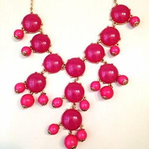Jewelry - Raspberry Bubble Necklace