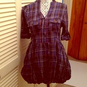 Dresses & Skirts - Plaid bubble dress-sold on vinted